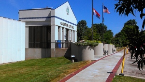 Gladstone City Hall, northwest corner of 70th and North Holmes.