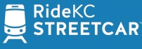 Downtown Streetcar uses the RideKC brand and the streetcar icon